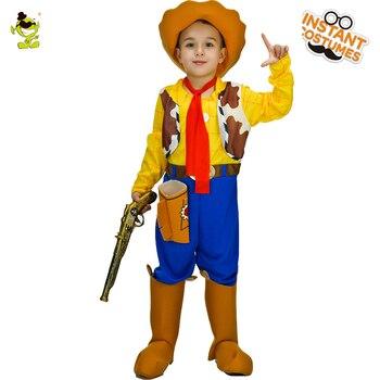 праздничные наряды для мальчиков | Purim праздничные детские ковбойские милые костюмы Ковбойское детское костюмированное платье вечерние костюмы для косплея одежда