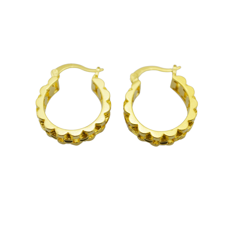 Beautiful Gold Earrings Designs Simple | Jewellry\'s Website