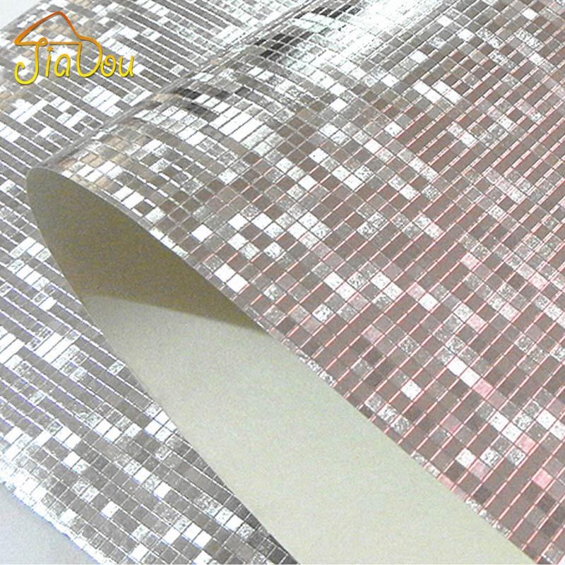 Luxury glitter carta da parati mosaico sfondo muro di for Carta da parati oro
