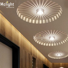 Background Light  Mini Small LED Ceiling Light for Art Gallery Decoration Front Balcony lamp Porch light corridors Light Fixture
