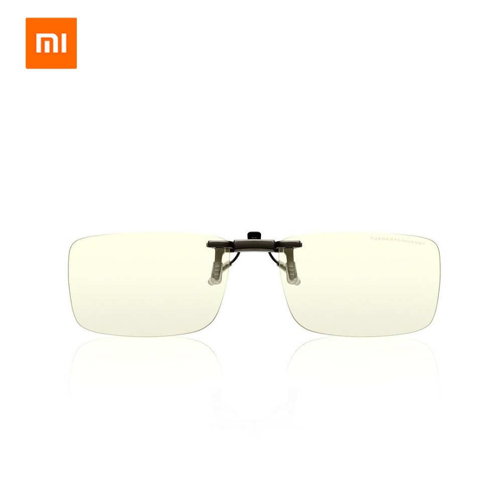 Original Xiaomi Mijia Mi TS 35% Anti-blue-rays Clip TAC Lens Zinc alloy Clip 110 Degree random upturn Eye Protector Fo Man Woman lowest price original xiaomi b1 roidmi detachable anti blue rays protective glass eye protector for man woman play phone pc
