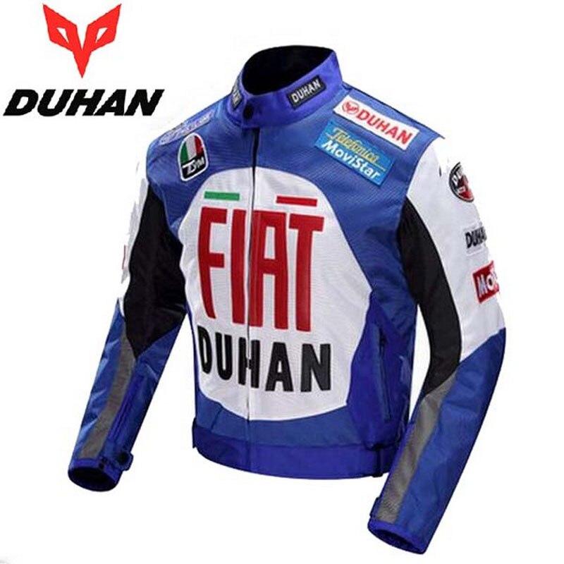 600D Oxford veste de moto hors route DUHAN veste de course de moto professionnelle veste de moto vélo vêtements de course noir bleu rouge couleurs