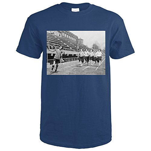Summer Short Sleeves Fashion T Shirt Free Shipping Track Meet at George Washington University Photograph Male Best Sell T Shirt image
