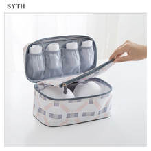 SYTH YM Series Travel Bra Bags Nylon Waterproof Under ware Packing Organizers  Women Business Trip and travel Necessary