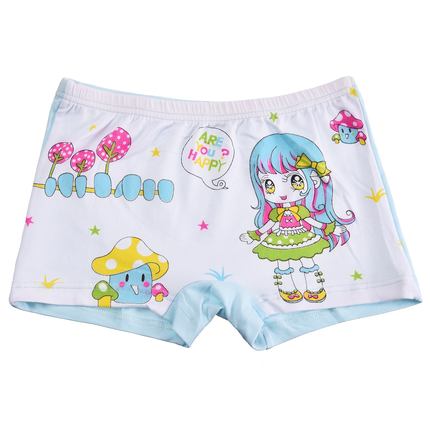 Kid Baby Girl Underwear Print Cartoon Cute Panties Breathable Briefs Children Boxer ...