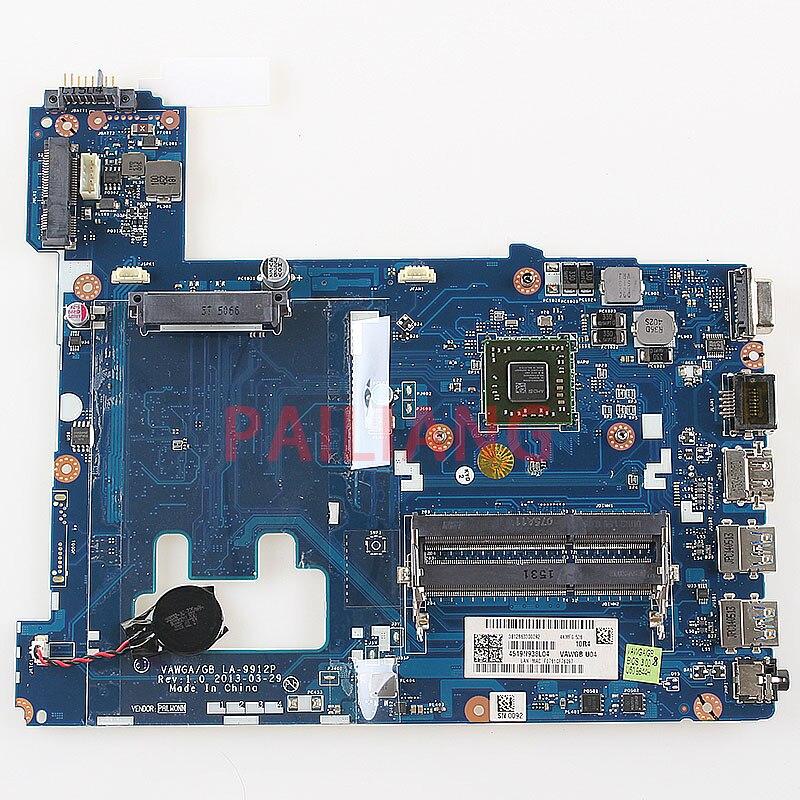 PAILIANG Laptop motherboard for Lenovo G505 PC Mainboard 90003020 VAWGA/GB LA-9912P full tesed DDR3 чайник vitek vt 7021 sr 2200 вт 1 7 л нержавеющая сталь серебристый