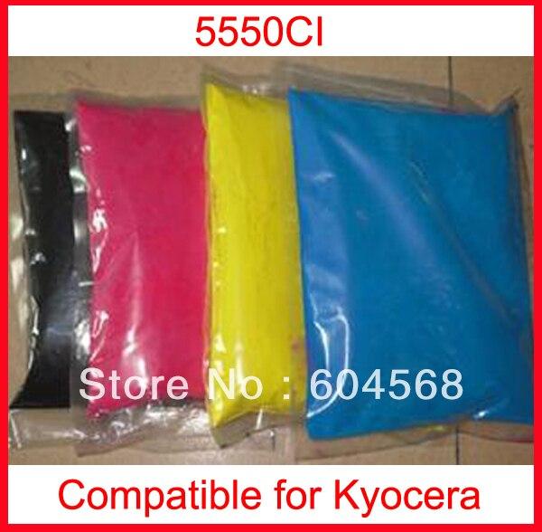 High quality color toner powder compatible kyocera 5550ci Free Shipping high quality color toner powder compatible kyocera c5350dn free shipping
