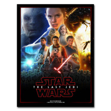Star Wars Episode VIII The Last Jedi Art Silk Or Canvas Poster