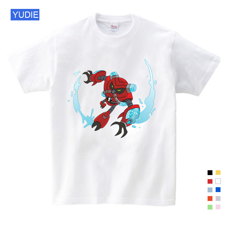 Free Shipping Fashion Omnitrix Ben 10 Children and Shirt T Baby Boy Tops Summer Boys Girls Anime Cartoon YUDIE