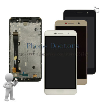 5.0 inch New Full LCD DIsplay + Touch Screen Digitizer Assembly + Frame Cover For Huawei Y6 Pro Y6Pro / G Powe TIT-AL00 TIT-U02 image