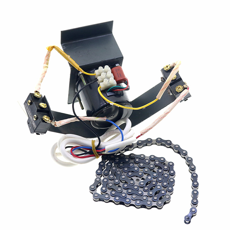 Accessoires incubateur Automatique Oeuf Tournant Système En Acier Inoxydable Avec Moteur Et Chaîne Et Une Gamme Complète De Commutateurs De Voyage
