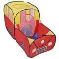 Forma Del Coche de seguridad tienda plegable para niños Tiendas de Juguetes De Plástico de seguridad piscina de bolas juego de billar gran tienda para niños en interiores jugar yard