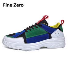 Fine Zero Men's Sneakers Spring Autumn Breathable Comfortable Hot Brand Men Footwear Male Outdoor Walking Shoes Zapatos Hombre