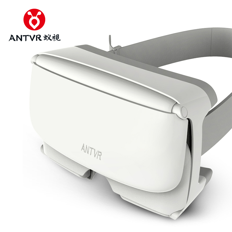ANTVR 3d vr Box Gear VR XiaoMeng Folding Portable virtual pc glasses White virtual reality goggles for 4.7-6inch iPhone Samsung image