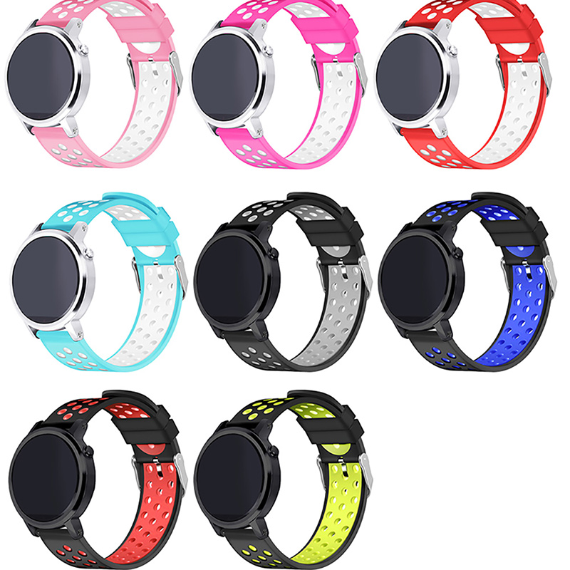 Silicone Rubber Watch Band For Samsung Gear S3/S2 Frontier Classic Fashion Bracelet Link  Adjustable Replacement Accessory silicone rubber watch band strap replacement smartwatch bands link bracelet for samsung galaxy gear s2 sm r720 black blue red