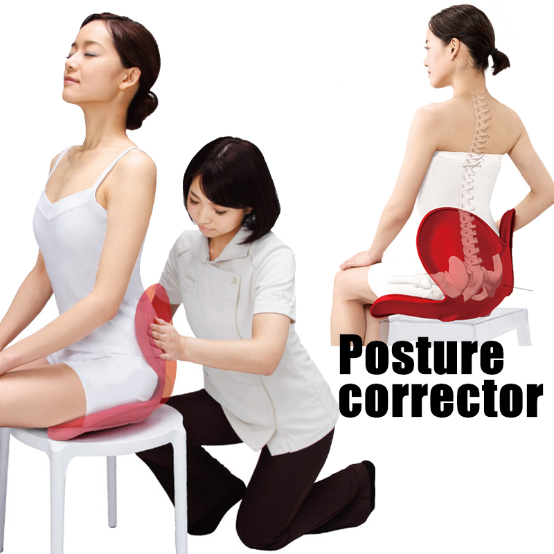 Back Posture Corrector Back Support Braces Sitting Posture Correction Cushion Keep Back Straight Waist Protector Pain Relief