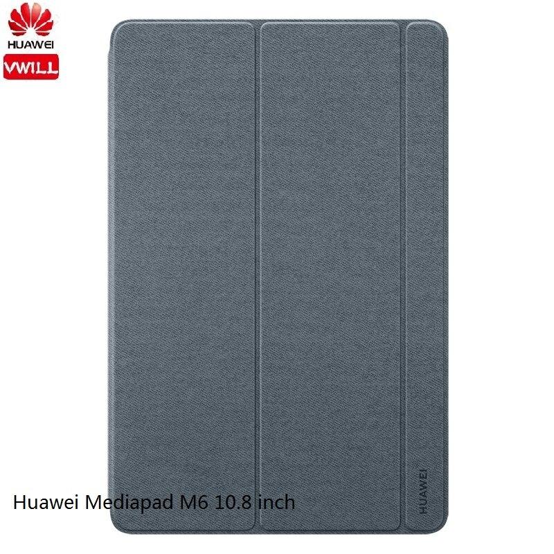 Оригинальный защитный чехол для планшета HUAWEI M6 10,8 дюйма, умный чехол из искусственной кожи, чехол-подставка, защитный чехол для HUAWEI Mediapad M6 8,4