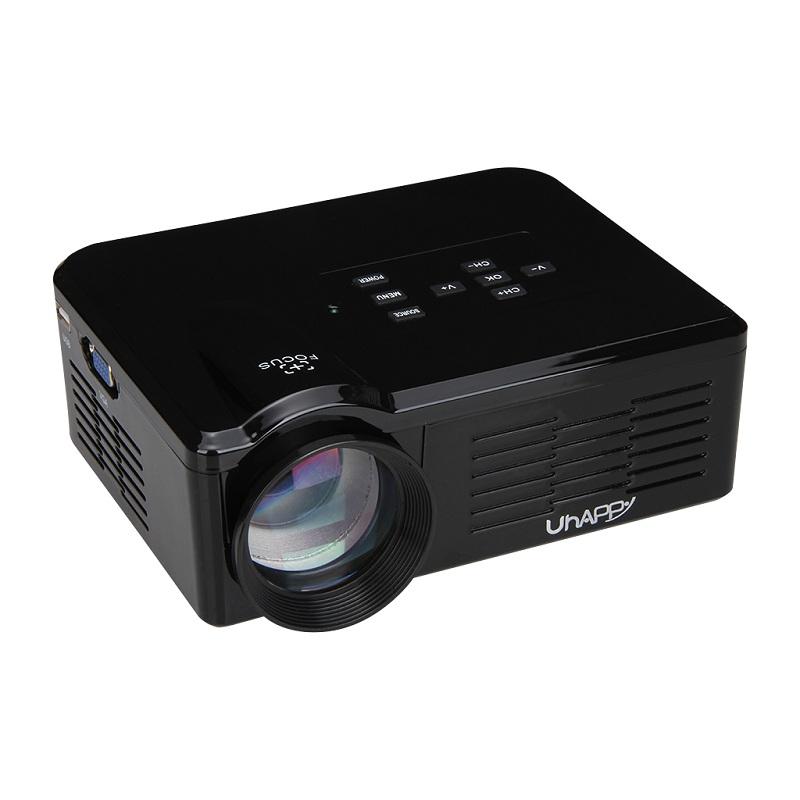 Prix pour Uhappy BL35 HD TV Projecteur Home Cinéma HDMI LCD LED Jeu PC Numérique Mini Projecteurs Soutien 1080 P Proyector 3D Beamer