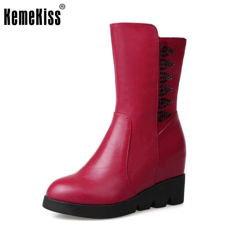 ФОТО Women Flats Half Short Boots Fashion Winter Warm Snow Martin Boots Ladies Casual Quality Fur Botas Woman Shoes Size 34-39