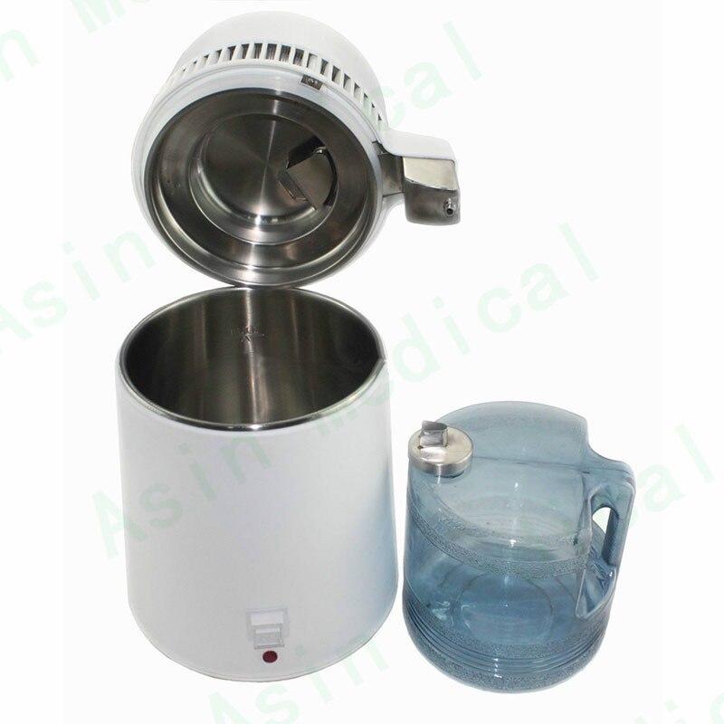 4L Dental Medical Hospital Water Distiller Purifier Stainless Internal Filter clean4L Dental Medical Hospital Water Distiller Purifier Stainless Internal Filter clean