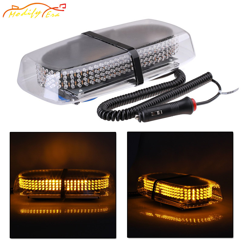 Modify.Era 240 LED Car Roof Flashing Strobe Emergency Light Lamp Bulbs Magnetic base Truck Police Fireman Beacons Warning Lights areyourshop gold plated stereo 3 5mm 3 pole repair headphone jack plug cable audio adapte 20pcs high quality connector