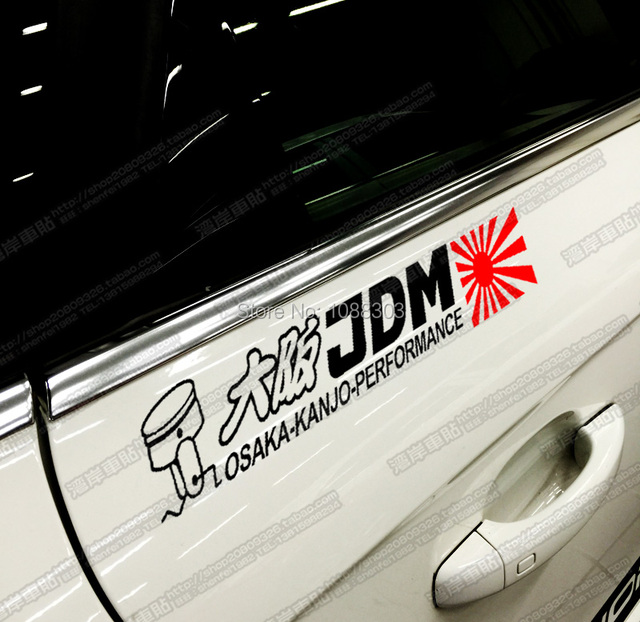 3 sizes Japan JDM Car Sticker Front Windshield Car Whole Body Decals for  OSAKA-KANJO