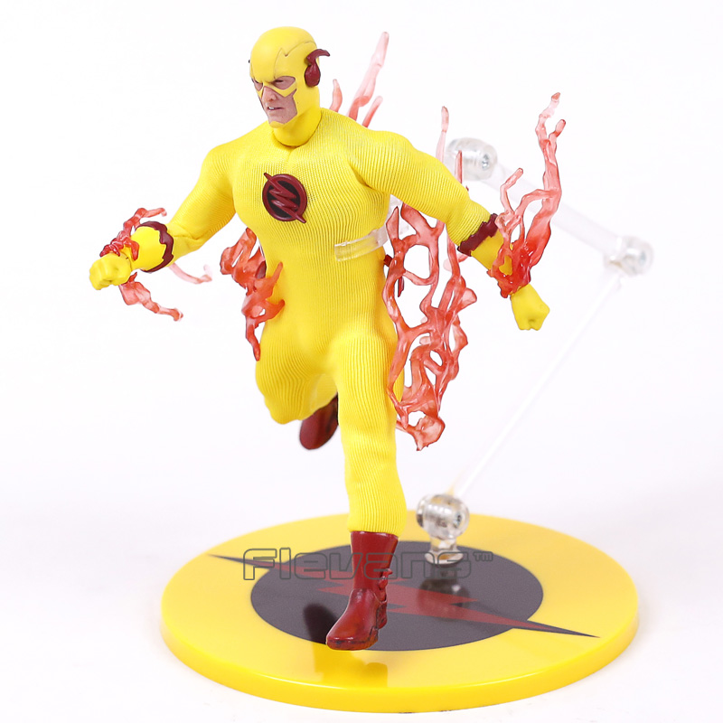 PX Previews Exclusive DC COMICS The Flash ZOOM Reverse Flash 1/12 PVC Action Figure Collectible Model Toy (Really Clothes) neca planet of the apes gorilla soldier pvc action figure collectible toy 8 20cm