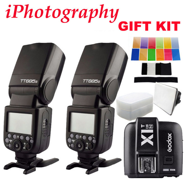 Godox TT685N HSS External TTL flash Speedlite + X1T-N trigger For Nikon D90 D7100 D5100 D5200 D3100 D3200 With GIFT KIT