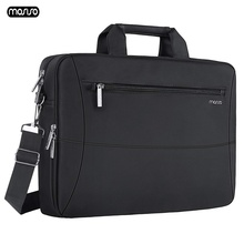 "MOSISO 15.6"" Laptop Bag Case Waterproof Notebook Bag for MacBook HP Lenovo Dell Asus Acer Computer Shoulder Handbag Briefcase Ba"