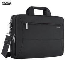"MOSISO 15.6"" Laptop Bag Case Waterproof Notebook Bag for MacBook HP Lenovo Dell Asus Acer Computer Shoulder Handbag Briefcase Ba"