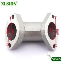Angled XLSION 0 Dgree YX-06 Inlet Intake Manifold Cachimbo 27mm Para YX 125cc 140cc 150cc 160cc Motor Pit Sujeira motor de moto de Motocross