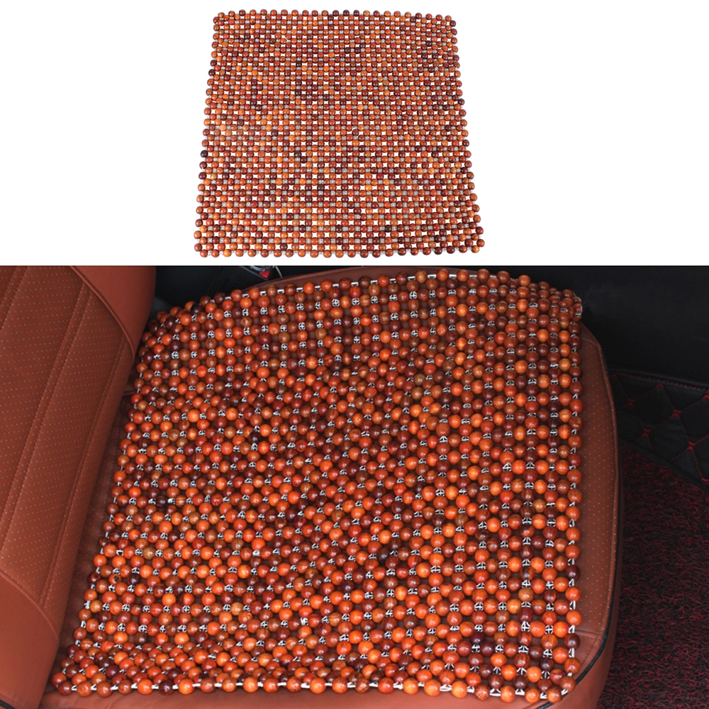 Car Grass Rosewood Bead Seat Cushion Auto Car Home Chair Cover Beaded Seats Covers Massages Single Seat Cover