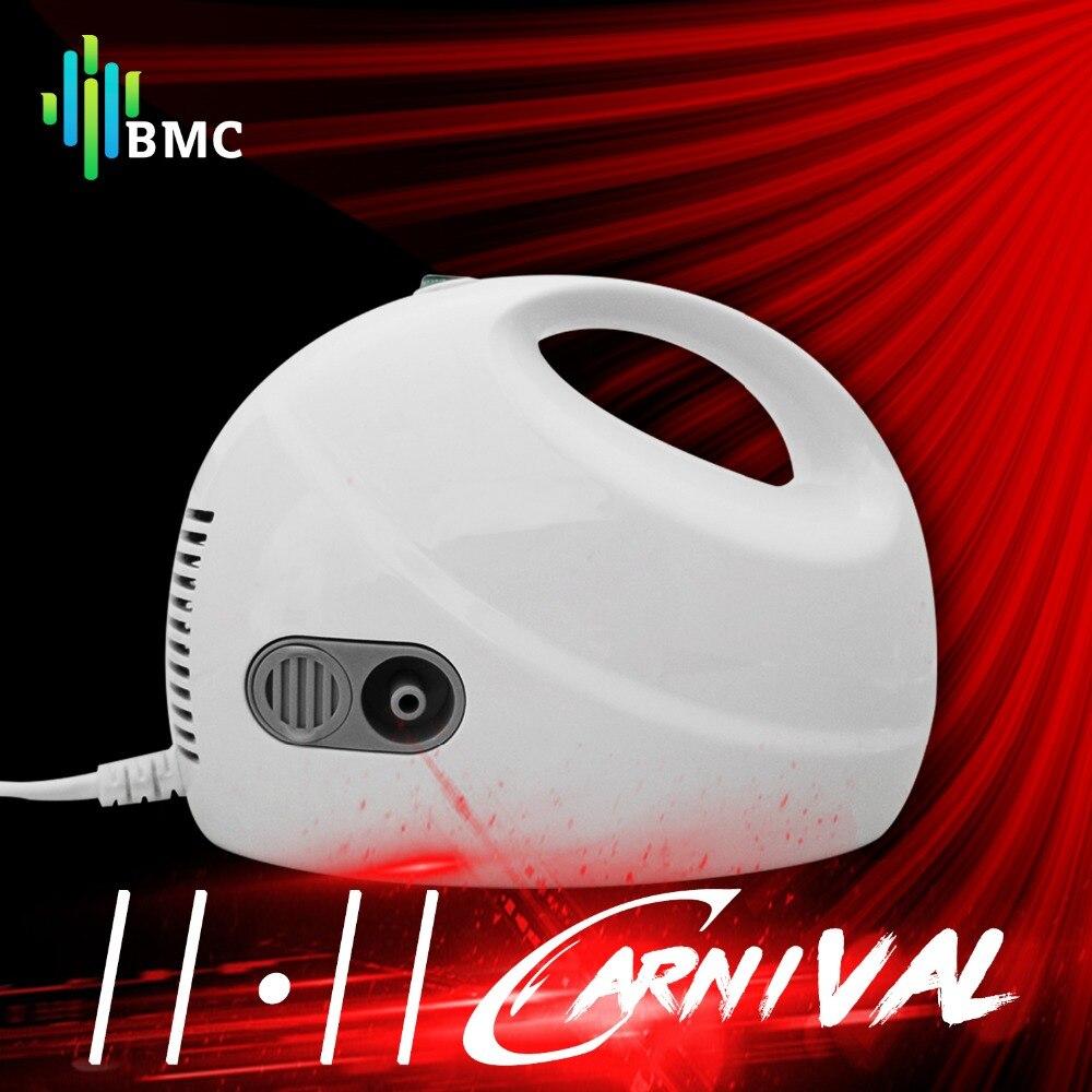 BMC Familie Ultraschall Vernebler Erwachsene Kinder Asthma Inhalator Nebulizator Medizinische Handheld Atomiseur Dampfenden Gerät