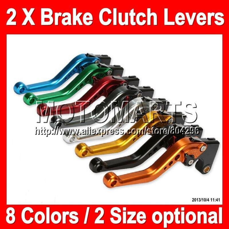 8 colors 2X Brake Clutch Levers For YAMAHA FZ6 FZ6R 2009-2012 FZ 6R FZ 6 FZ-6R 09 10 11 12 2009 2010 2011 2012 100%NEW CNC