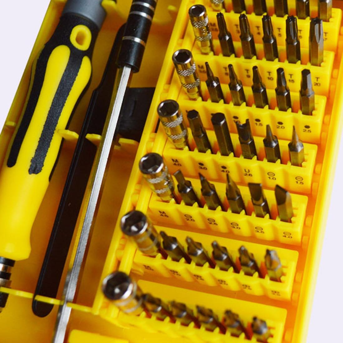 Hot 45 in 1 Set di cacciaviti Torx professionali di precisione per - Utensili manuali - Fotografia 1