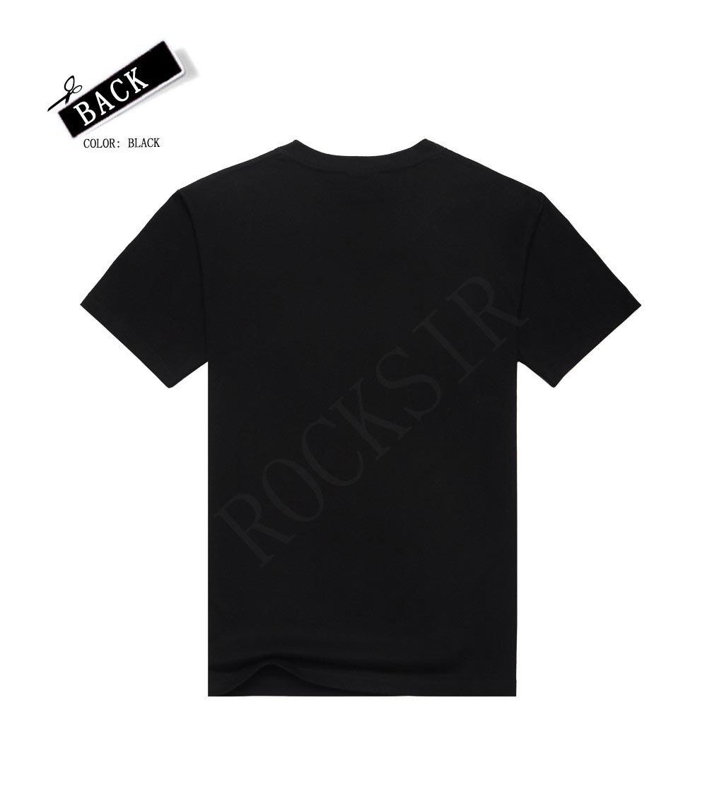 [Men bone] Golden Fashion Eagle animacje T-shirt aguia t shirty heavy - Odzież męska - Zdjęcie 2