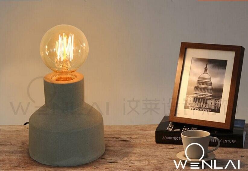 Lâmpada de Cabeceira Lâmpada de Mesa Decoração Da Casa Cafe Bar