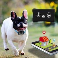 Mini Quad-Band GSM/GPRS in Tempo Reale GPS Pet Dog Cat Tracker Locator Impermeabile Antifurto Localizzatore GPS per I Bambini Pet Car nuovo