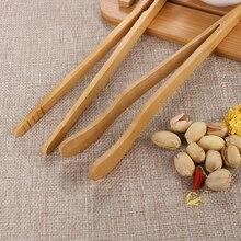 1 шт. новые бамбуковые деревянные щипцы для чая 18x3 см еда тост бекон сахар чай щипцы для салата клип пинцет приготовления утварь, приспособление кухонные части