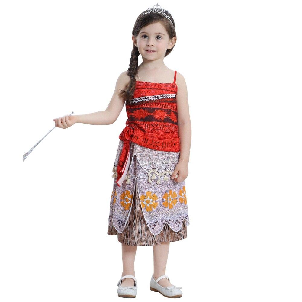 Children Girls Beauty and the Beast kids Princess Belle Dress UP Set B1