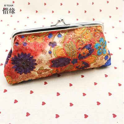 XIYUAN BRAND new fashion leinwand schüler brieftasche für handy und kreditkarten teenager mädchen nette geldbörsen für bargeld