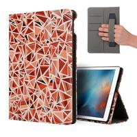 2017  Intelligent Sleep Folding Stand Painted Leather Case Cover For NEW Apple ipad 9.7Inch 2017 Tablet ma03