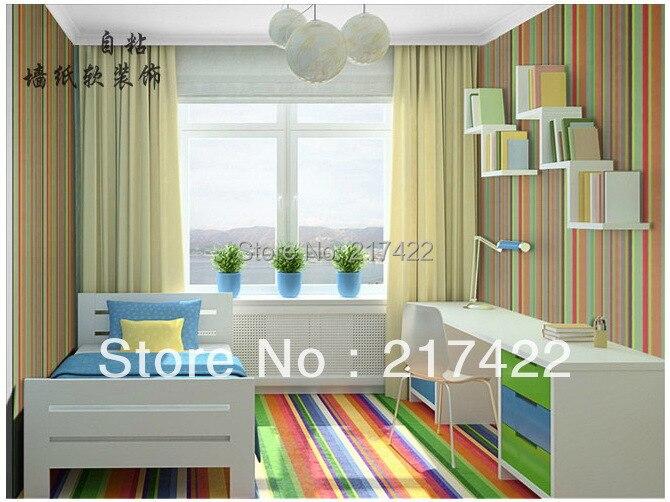 color stripe self adhesive 4 5 square meters pvc. Black Bedroom Furniture Sets. Home Design Ideas