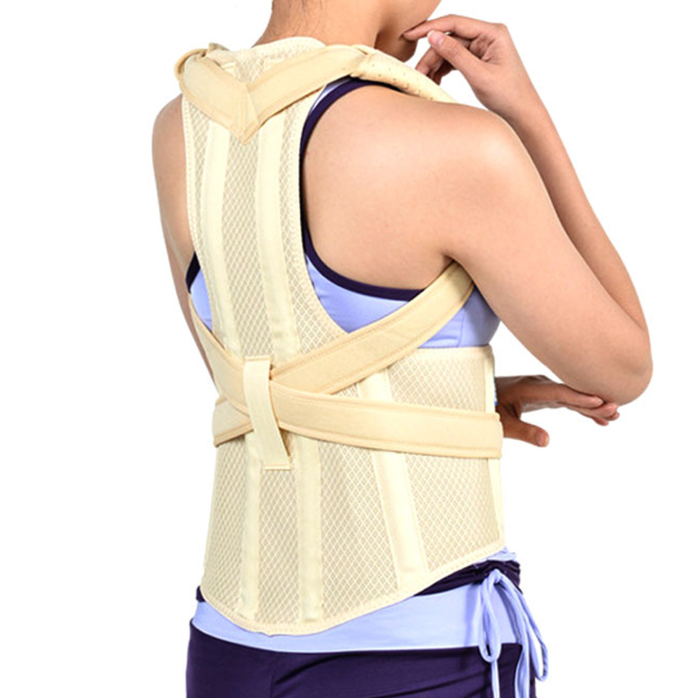 1Pcs Adult Kyphosis Correction Belt Student Male and Female Body Shaping Underwear Curvature Correction S M