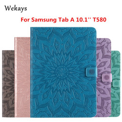 Wekays For Galaxy Tab A 10.1 Smart Leather Stand Funda Case For Samsung Galaxy Tab A 10.1 2016 T585 T580 T580N Tablet Cover Case