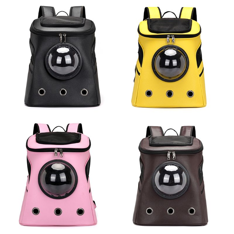 Fashion PU Pet Travel Carrier Space Capsule Cat Dog Backpacks Sport Travel Outdoor Bag  Fashion PU Pet Travel Carrier Space Capsule Cat Dog Backpacks Sport Travel Outdoor Bag