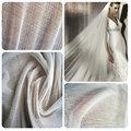 100% Nature White Silk Tulle Fabric Use Wedding silk veil 100% SILK FABRIC 150CM width