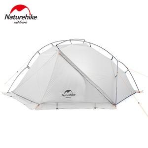 Image 4 - Naturehike VIK serisi Ultralight su geçirmez 1 kişi tek katmanlı açık seyahat çadırları yürüyüş kamp çadırı
