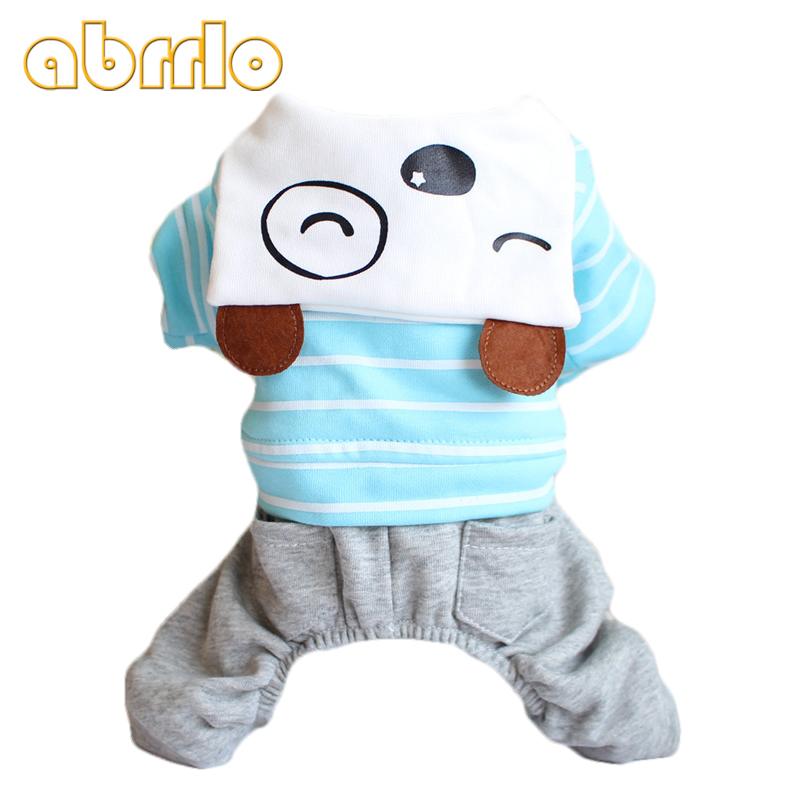 Brilliant Abrrlo Funny Pet Dog Jumpsuits Striped Rompers Soft Fleece Pets Dogs Products Cute Pets Dogs Puppy Clothes Jumpsuits Coats To Rank First Among Similar Products Pet Products Jumpsuits & Rompers