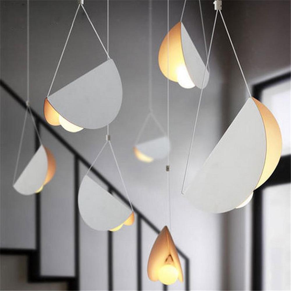 Designer light postmodern art pendant lights restaurant for Lampada ristorante